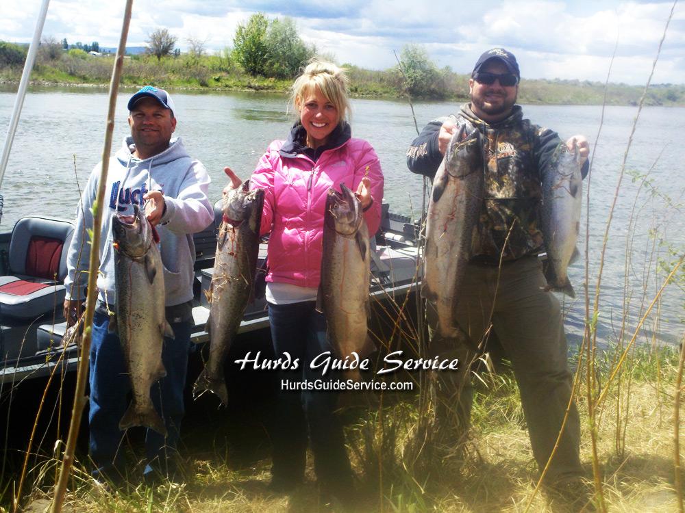 Leavenworth wa icicle river salmon pasco kenniwick for Columbia river walleye fishing report